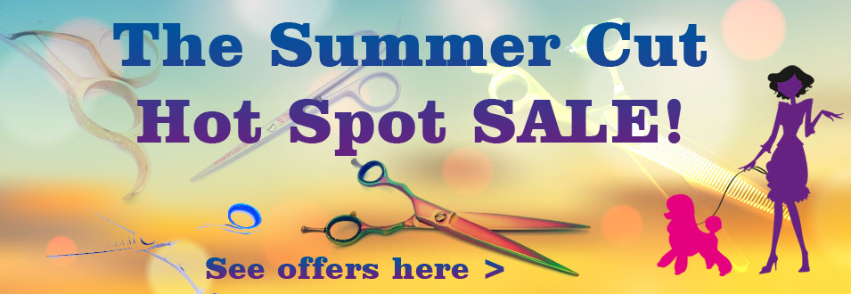 Professional scissors and grooming products SALE